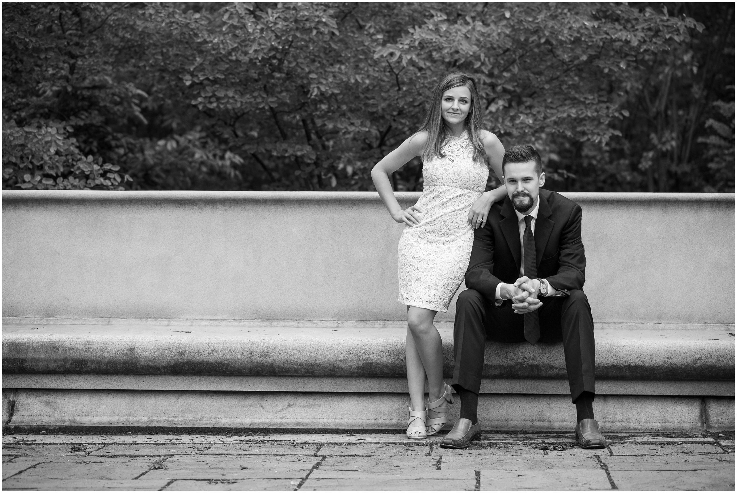 Elegant Engagement Portraits in Wisconsin