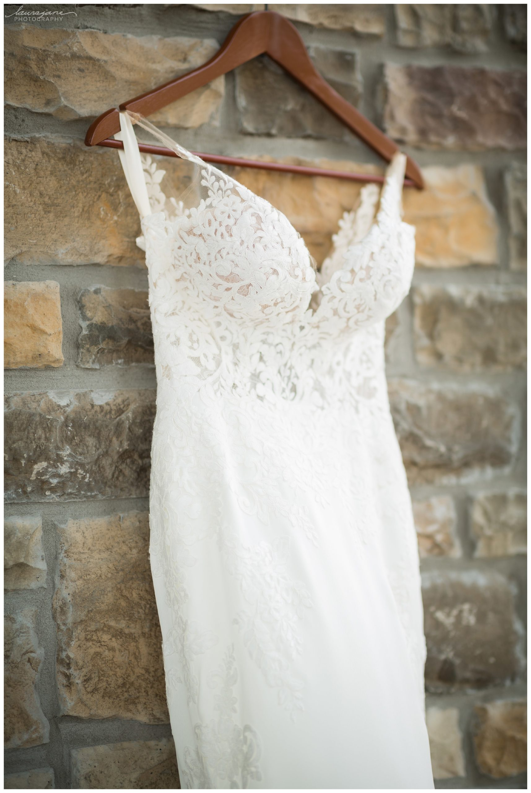 Simple Photo of Wedding Dress