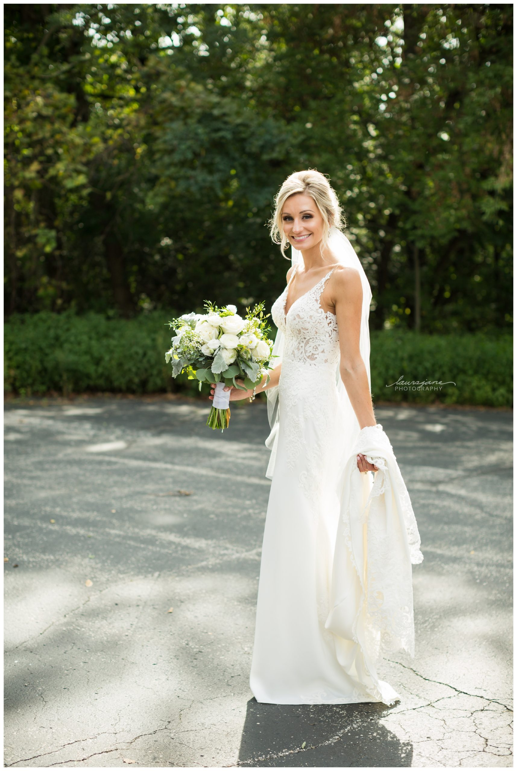 Bride Portrait at Glacier Hills