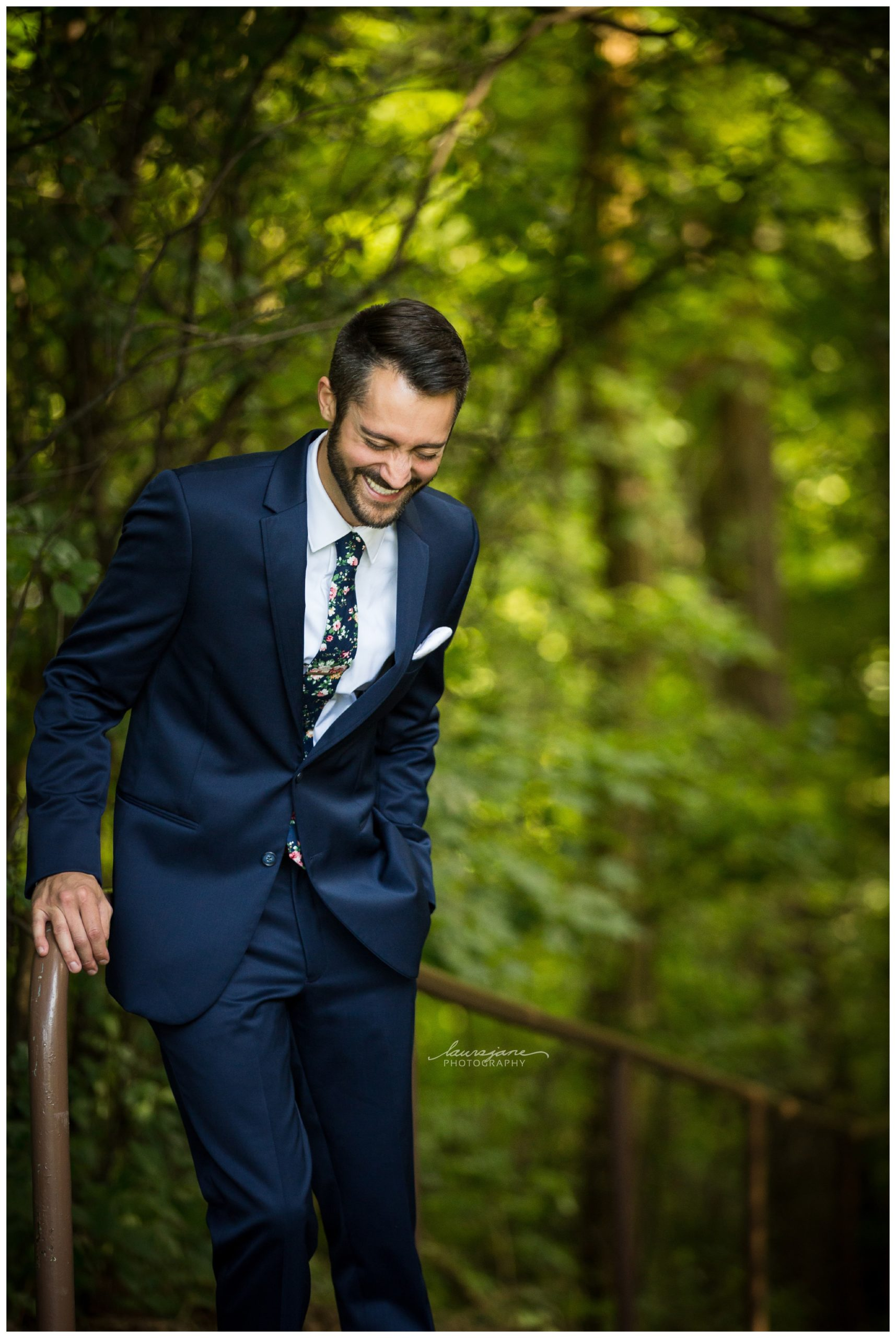 Groom Portrait at Richfield Wedding