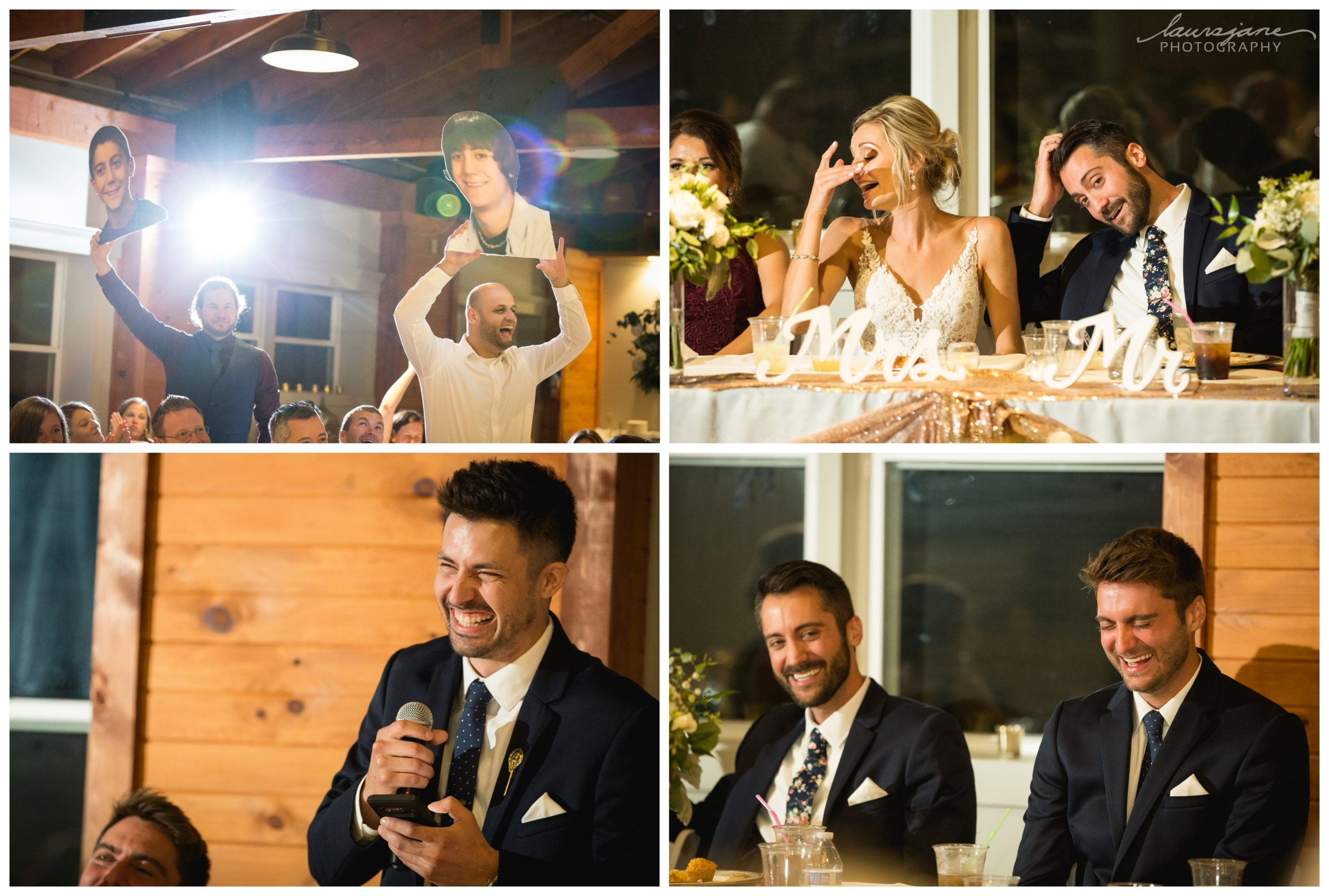 Hilarious Wedding Speeches at Richfield Wedding