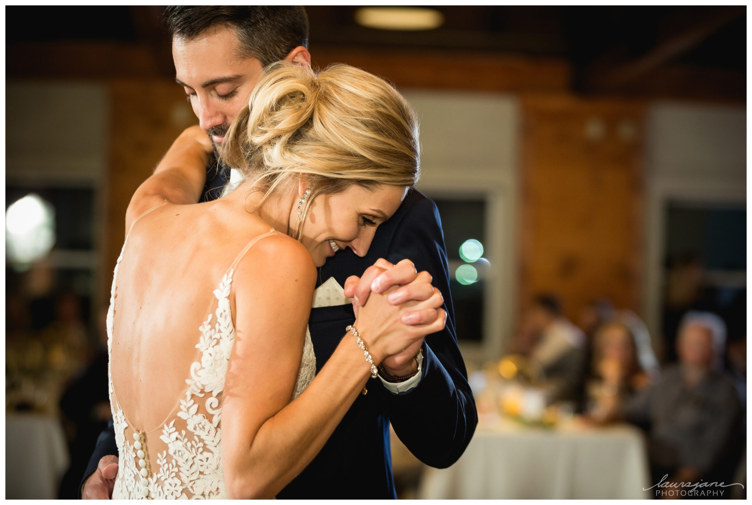 First Dance Photo by Brookfield Photographer