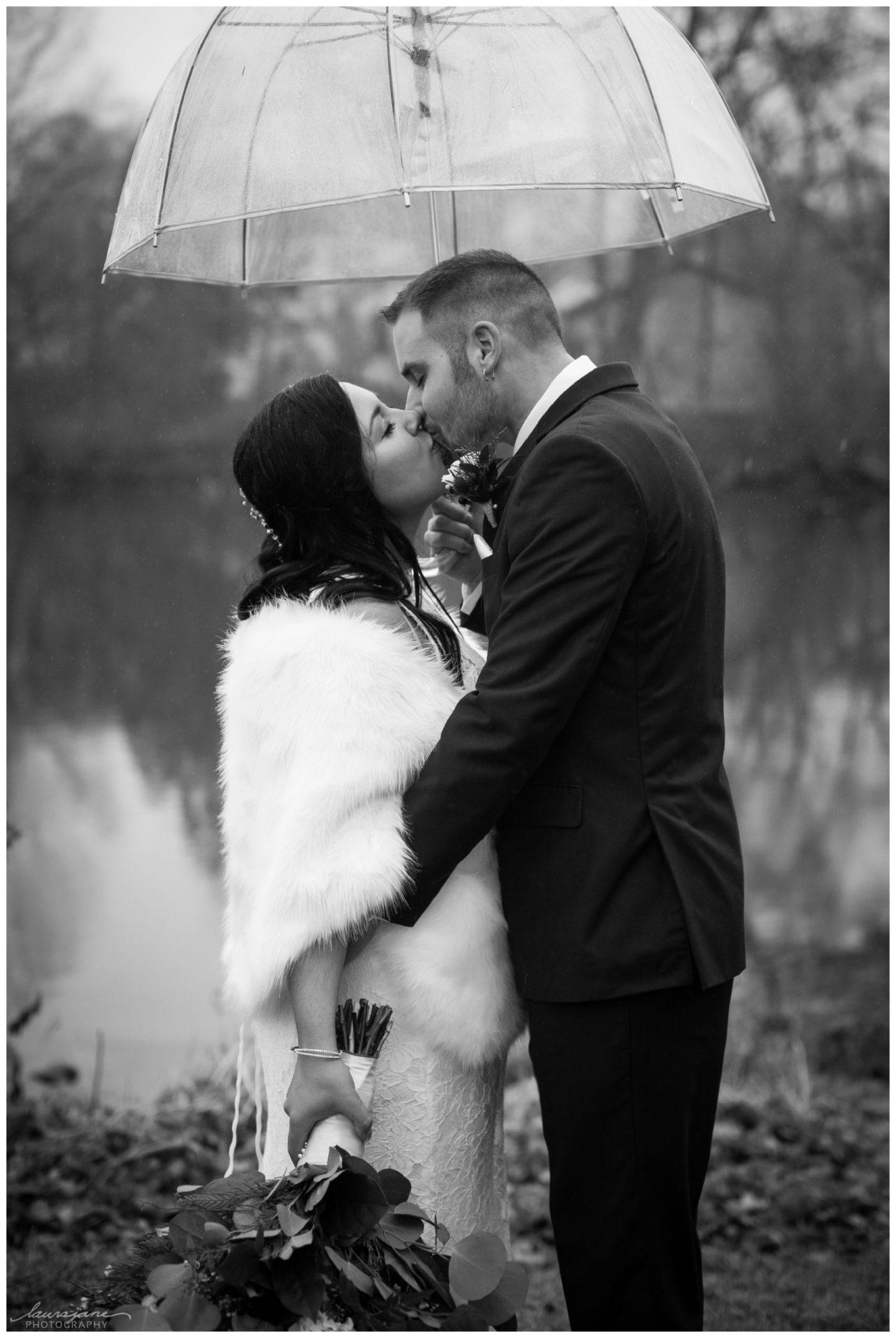 Romantic Rain Photos by Milwaukee Photographer