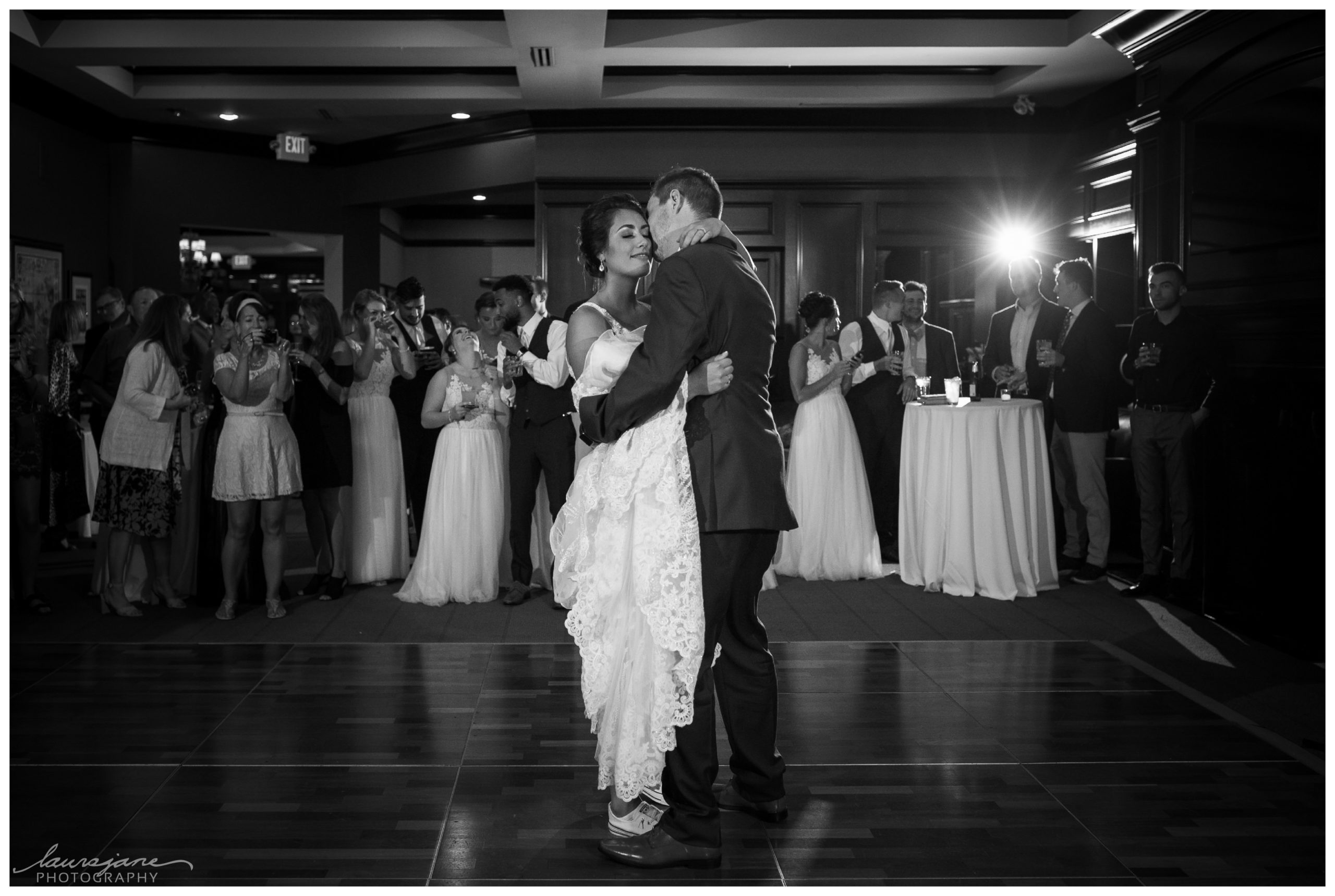 Intimate First Dance Photos by LauraJane Photography