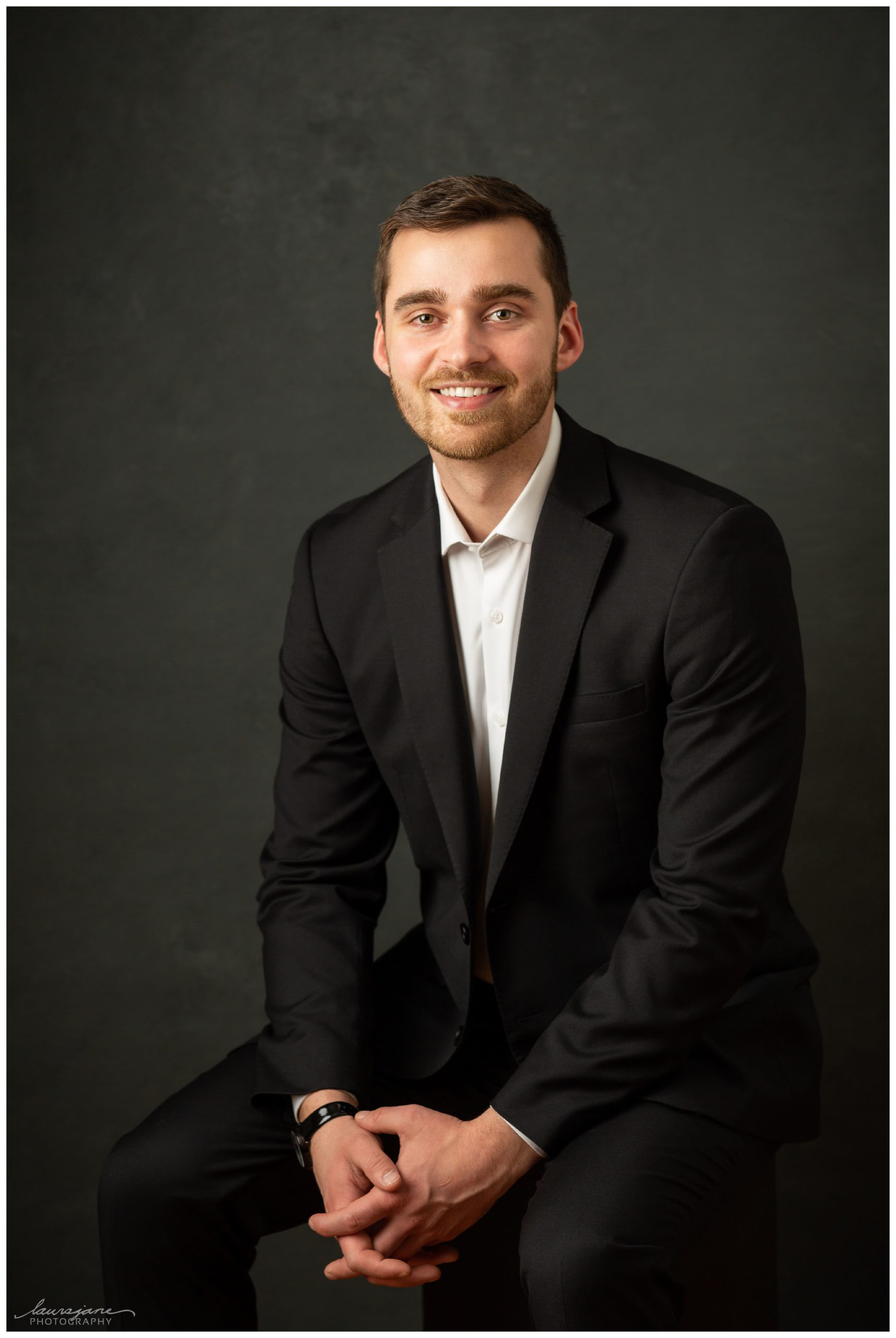 Professional business portrait by Wisconsin photographer